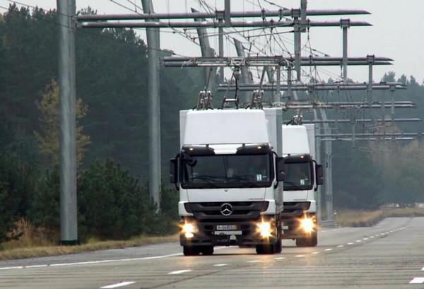 Электрические линии eHighway для грузовиков в Лос Анжелесе
